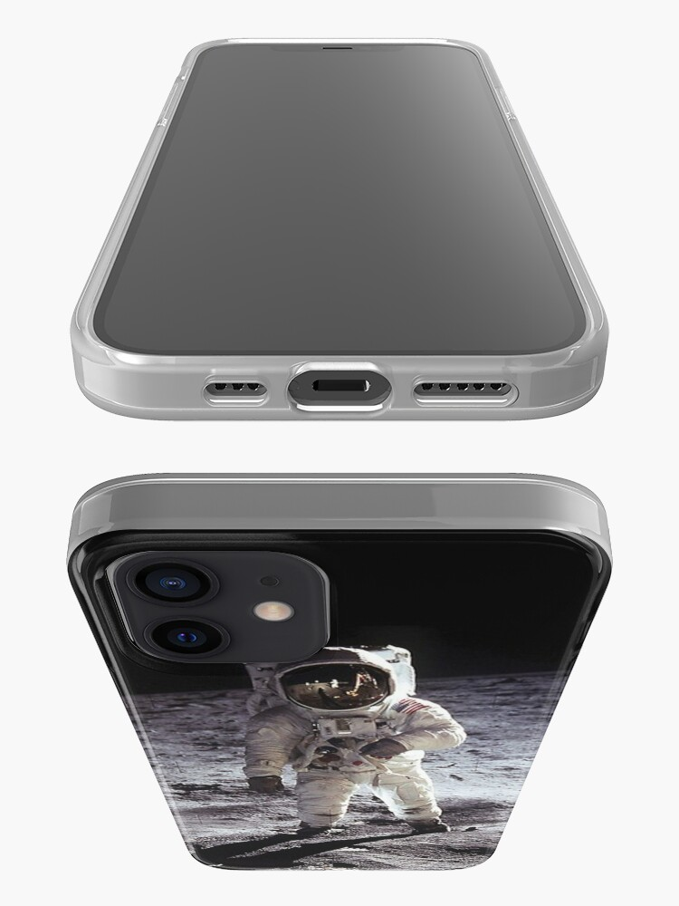 Alternate view of Buzz Aldrin On The Moon iPhone Case & Cover