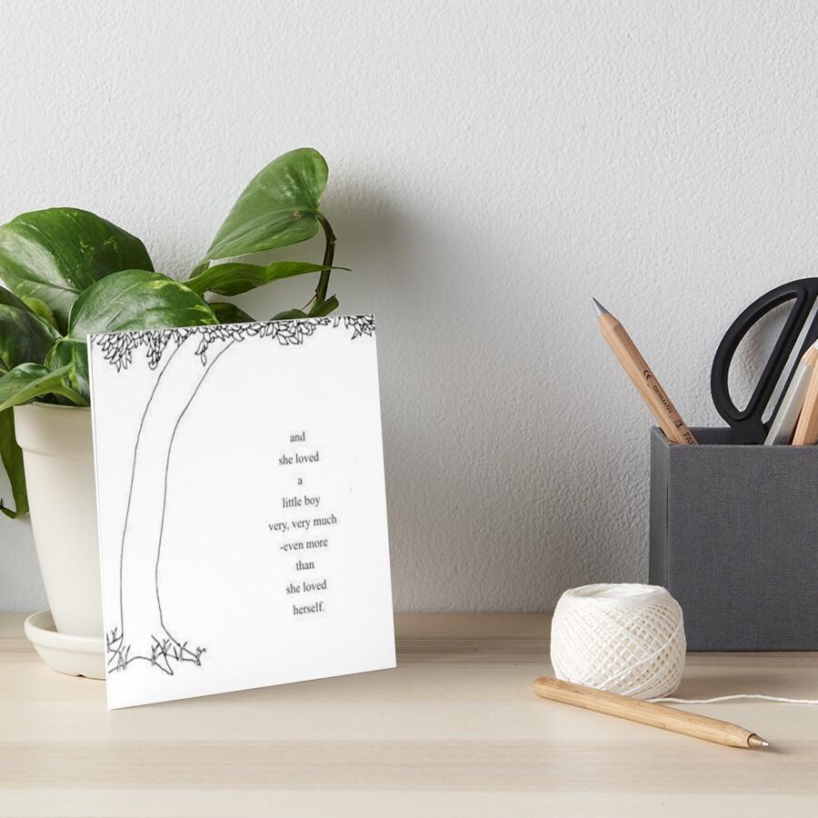 The Giving Tree Art Board Print