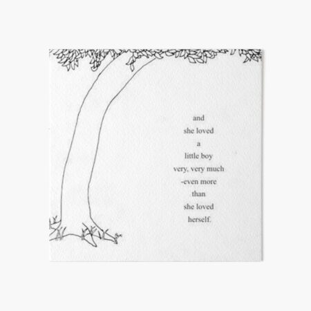 The Giving Tree Art Board Print