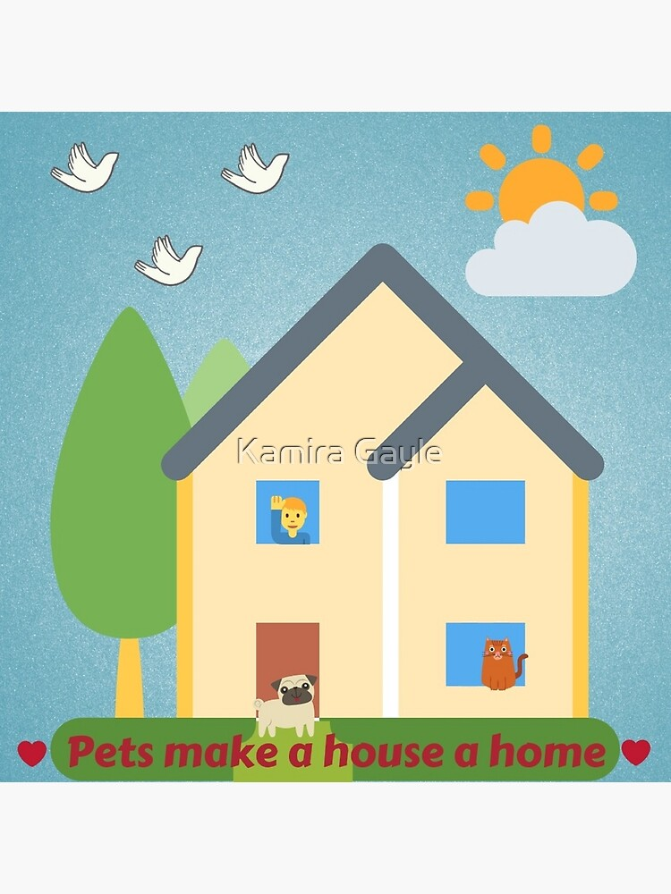 Pets make a house a home. by Impurrfectlife