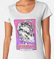DECEPTION OF A GENERATION Women's Premium T-Shirt