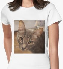 Ozzy le chaton T-shirt col V femme
