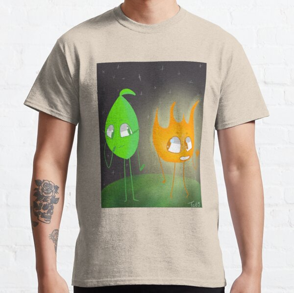 Firey and Leafy - Bfb Classic T-Shirt