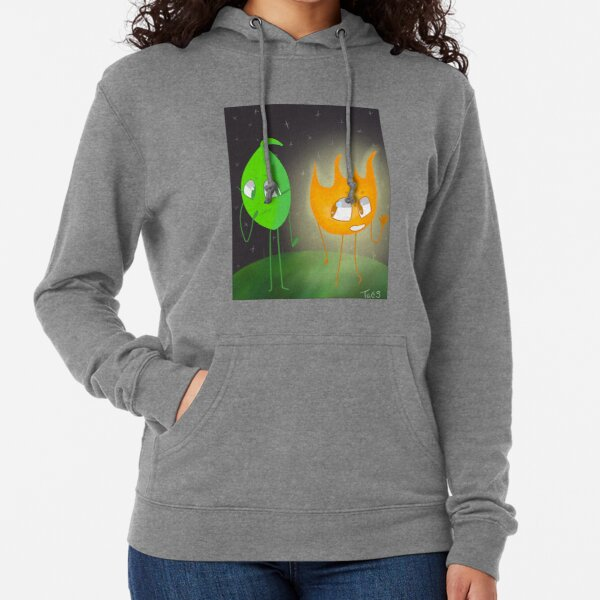 Firey and Leafy - Bfb Lightweight Hoodie