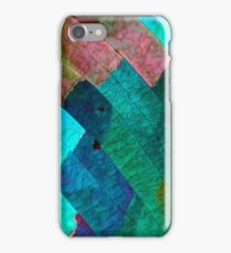 Sulfur crystals under the microscope iPhone Case/Skin