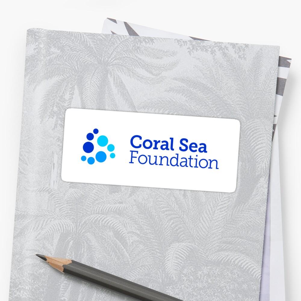 CSF Logo on Sticker Sticker