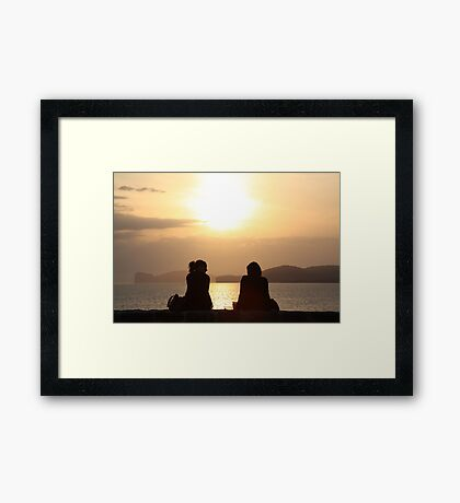 Take all our time... Framed Print