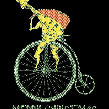 Ugly Christmas sweater giraffe by piedaydesigns