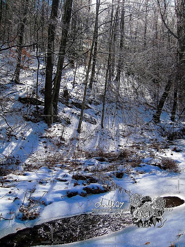 frozen creek by LoreLeft27