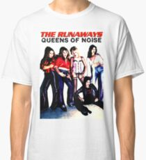 THE RUNAWAYS Queens Of Noise Classic T-Shirt