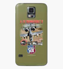 Fairchild Republic A-10 Thunderbolt II (Warthog) Kills Tanks Dead Case/Skin for Samsung Galaxy