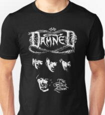 The Damned The Black Album Tour 1980 Unisex T-Shirt