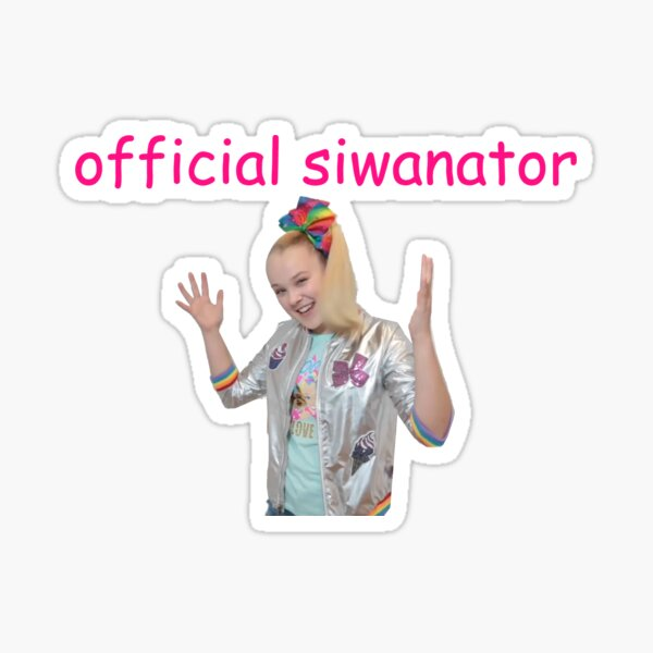 Official Siwanator Badge Sticker