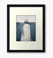 The Whale (Vintage) Framed Print