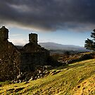 Bryn Eithin. An abandoned farmhouse - North Wales by Rory Trappe