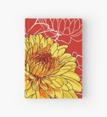 Mums - Birth Month Flower for November Hardcover Journal