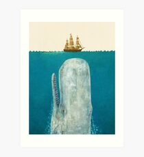 The Whale (Option) Art Print