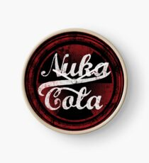 NUKA-COLA MERCH Clock