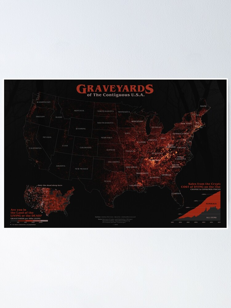 Alternate view of Graveyards of USA Poster
