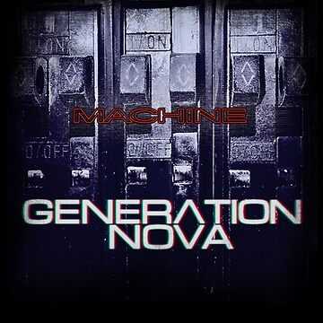 Machine Album Cover by GenerationNova