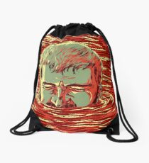 I am sinking here Drawstring Bag