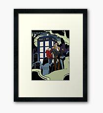 Dr.Who Framed Print