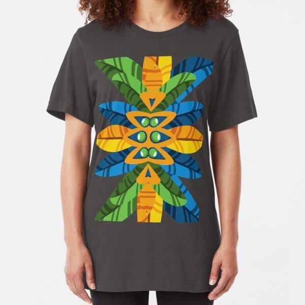 Brazilian Headdress Slim Fit T-Shirt