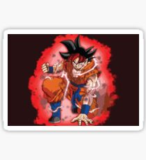 goku ultra instinct - goku transformations - goku limit breaker - ultra instinct ultimate form Sticker