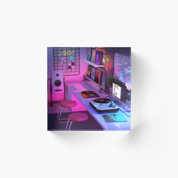 Vinyl is Life Acrylic Block
