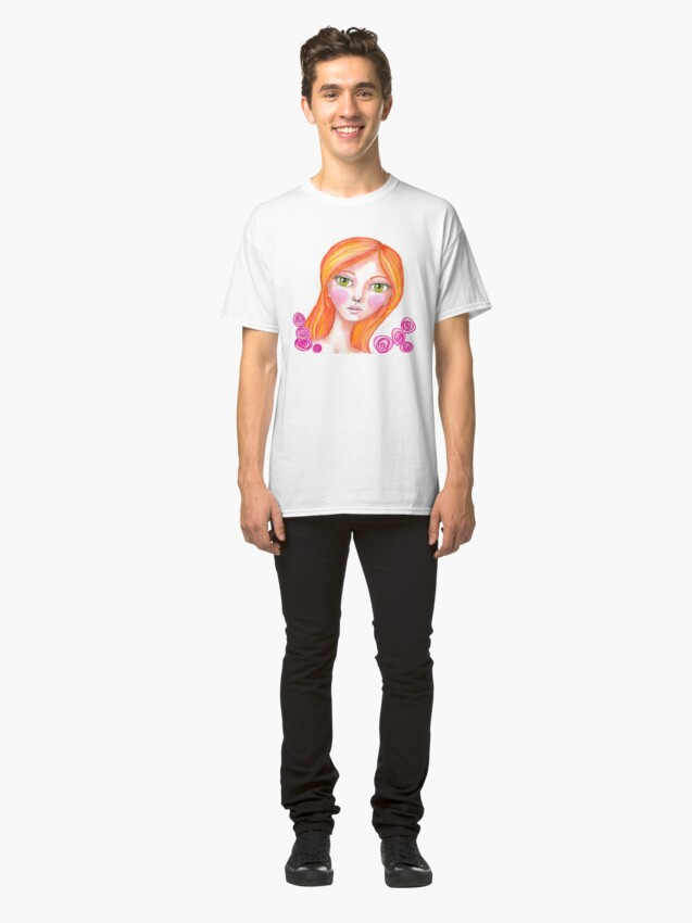 Alternate view of Just Rosy Classic T-Shirt