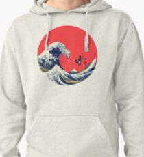Kanagawa Hokusai Pullover Hoodie
