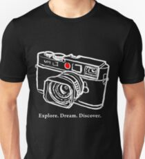 Leica M9 red dot rangefinder camera T-Shirt T-Shirt