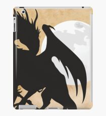 Tolkien - Smaug - Dragon against the Moon iPad Case/Skin