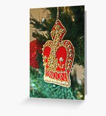 Christmas - London Greeting Card