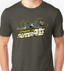 Sunnyshore City Thunder Fangs: Luxray Sports Logo T-Shirt