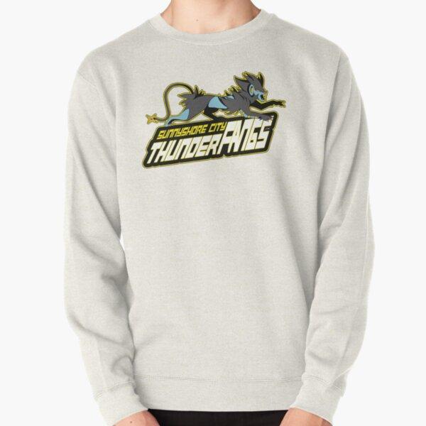 Sunnyshore City Thunder Fangs: Luxray Sports Logo Pullover Sweatshirt