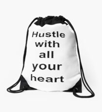 Hustle with Drawstring Bag