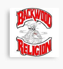 Backwood Religion Leinwanddruck