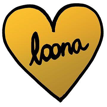 LOONA Heart Patch kpop by KPTCH