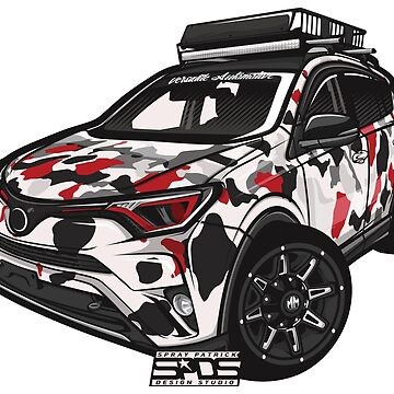 Toyota RAV4 (@salar321) by SprayPatrick