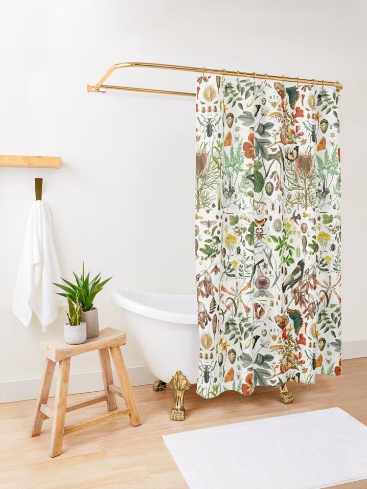 Alternate view of Biology 101 Shower Curtain