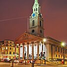 St. Martin-in-the-Fields, London by Irina-C