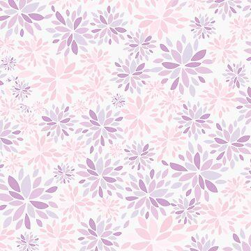 Nature's Healing Mandala Pink by SKKSdesign