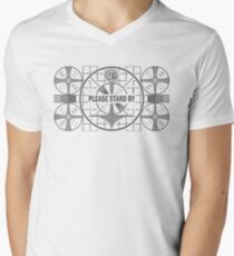 Please Stand By Men's V-Neck T-Shirt