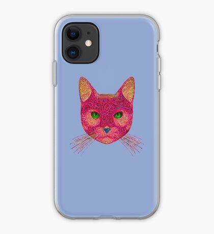 Rose Hungry Cat iPhone Case
