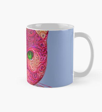 Rose Hungry Cat Mug