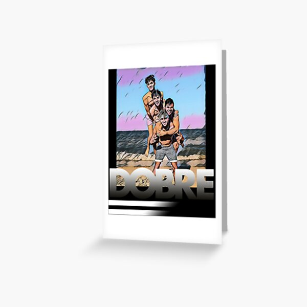 Dobre Twins Dobre Brothers Greeting Card