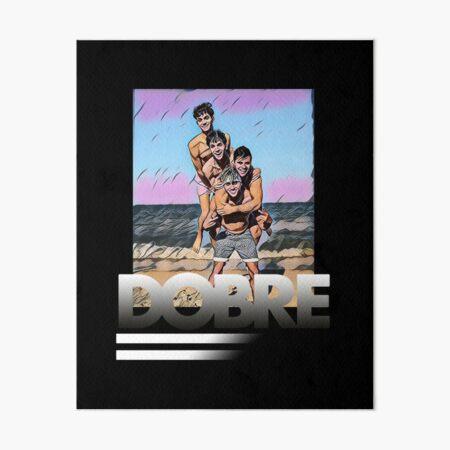 Dobre Twins Dobre Brothers Art Board Print