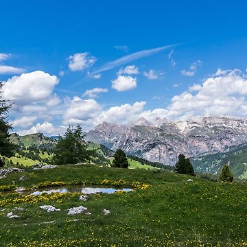 Paradise in the Dolomites by Blauer