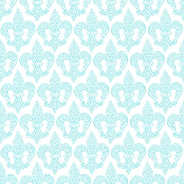 Vintage Fleur-de-Lis Pattern by vertigocreative